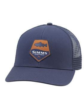 Кепка Simms Trout Patch Trucker, Admiral Blue