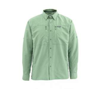 Рубашка Simms Bugstopper LS Shirt Solid, Mantis