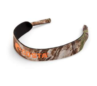 Шнурок для очков Costa, Neoprene Classic, Realtree Xtra Camo Orange Logo