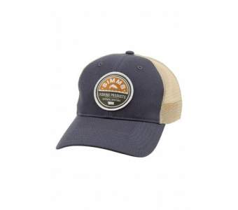 SIMMS Patch Trucker Cap, Dark Moon