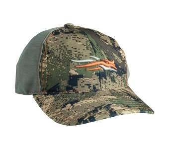 Бейсболка Sitka Stretch Fit Cap, Optifade Ground Forest SM