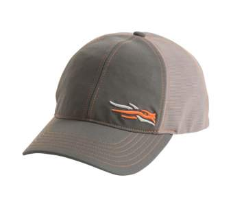 Бейсболка Sitka Stretch Fit Cap, Lead SM