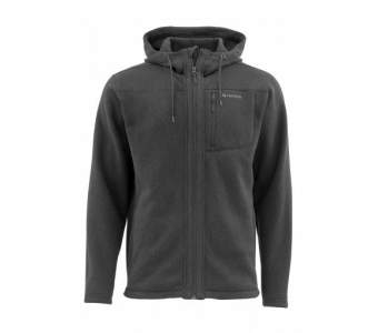 Куртка Simms Rivershed Full Zip Hoody, Black