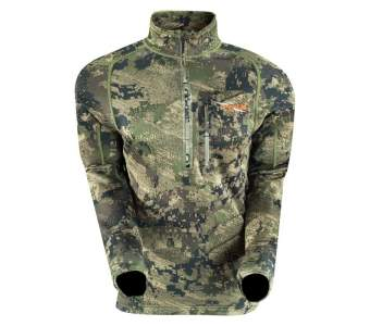 Водолазка Sitka Core Hvy Wt Zip T, Optifade Ground Forest