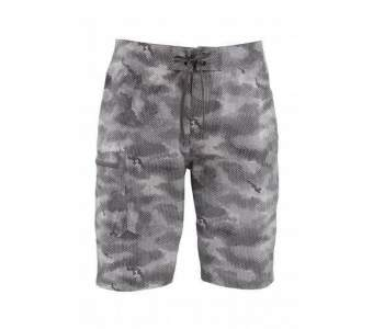 Шорты Simms Surf Short - Print, Hex Camo Sterling