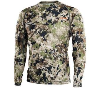 Sitka Core Light Weight Crew - LS, Optifade Subalpine