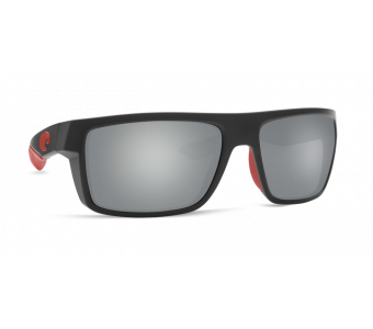 Очки Costa, Motu, Gray Silver Mirror 580P, Race Black Frame
