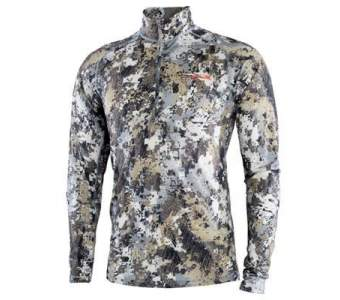 Водолазка Sitka Merino Core Ltwt Half-zip, Optifade Elevated II