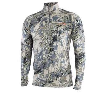 Sitka Merino Core Lt Wt Half-zip, Optifade Open Country
