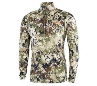 Sitka Merino Core Light Weight Half-zip, Optifade Subalpine