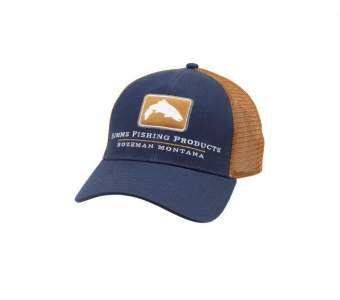 Simms Trout Icon Trucker, Admiral Blue