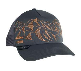 Бейсболка Sitka Mountain Sketch Foam Trucker, Lead