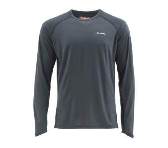 Simms Ultra-Wool Core Top, Raven