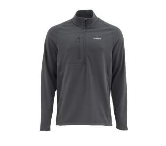Simms Fleece Midlayer Top, Raven
