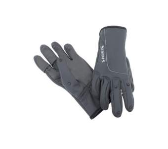 Simms Guide Windbloc Flex Glove, Raven