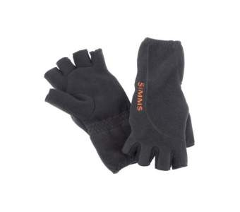 Simms Headwaters Half Finger Glove, Black