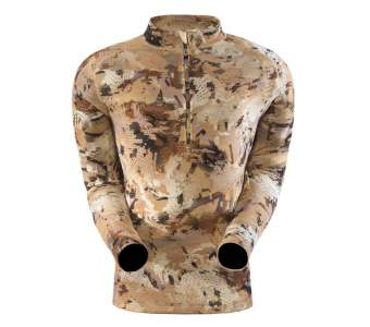 Водолазка Sitka Merino Core 1 LS Zip-T, Optifade Waterfowl