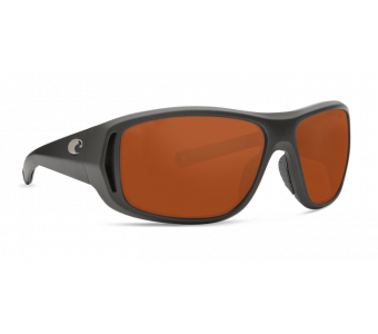 Costa Montauk, Copper 580P, Steel Gray Metallic Frame
