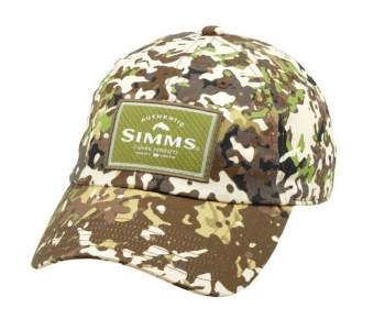 Simms Single Haul Cap, River Camo