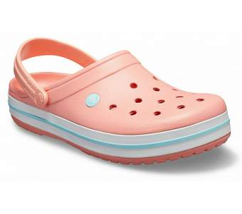 CROCS Crocband Melon-Ice Blue