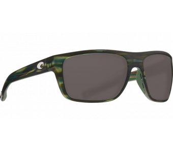 Costa Broadbill, Gray 580P, Matte Reef Frame