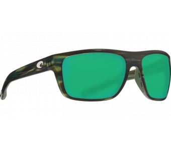 Costa Broadbill, Green Mirror 580P, Matte Reef Frame