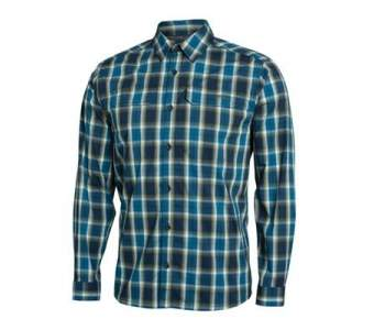Sitka Globetrotter Shirt LS, Pond Plaid