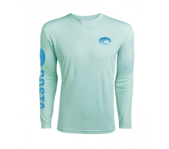 Costa TECHNICAL CREW LS SHIRT, Mint