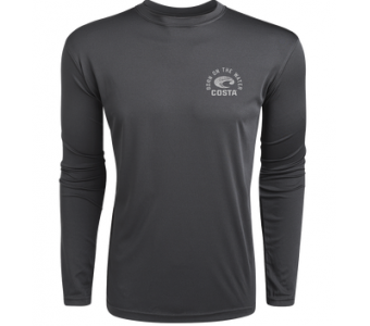Costa TECHNICAL TARPON LS SHIRT, Gray