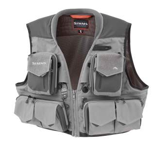 Simms G3 Guide Vest, Steel