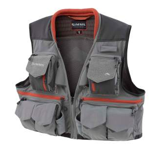 Simms Guide Vest, Steel