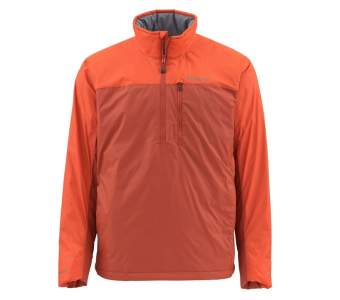 Simms Midstream Insulated Pull-Over, Simms Orange
