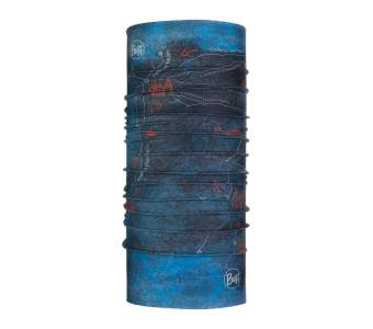 BUFF Camino de Santiago CoolNet® UV+, Peninsula Denim