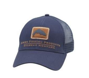 Simms Trout Icon Trucker, Ink Blue