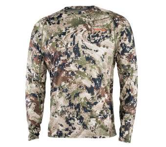 Sitka Core Lt Wt Crew - LS New, Optifade Subalpine