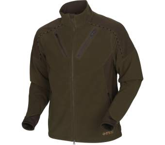 Harkila Mountain Hunter Fleece, Hunting Green-Shadow Brown