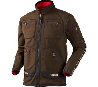 Harkila Kamko fleece, Brown-Red