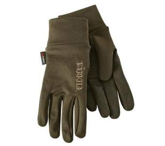 Harkila Power Liner Gloves, Dark Olive