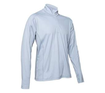 Insect Shield Tech Quarter Zip, M, Platinum