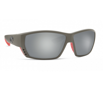 Costa Tuna Alley, Gray Silver Mirror 580P, Race Gray Frame