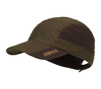 Harkila Mountain Hunter Cap, Hunting Green-Shadow Brown
