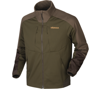 Harkila Magni Fleece Jacket, Willow Green-Shadow Brown