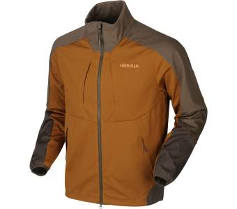 Harkila Magni Fleece Jacket, Rustique Clay-Shadow Brown