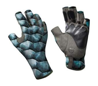 Buff Angler Gloves, Scales