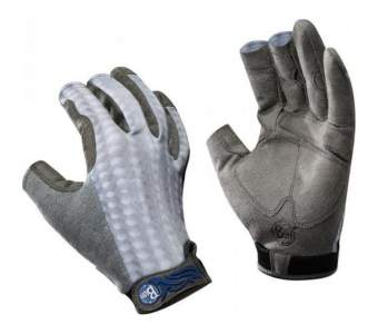 Buff Fighting & Work Gloves, M-L, Gray Scale