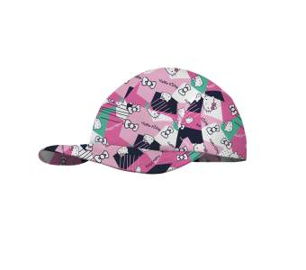 Buff 5 Panels Cap Kids Licenses, Hello Camo