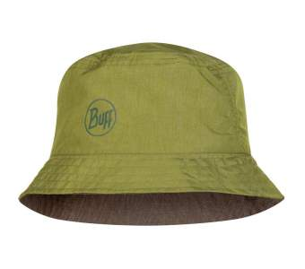 Buff Travel Bucket Hat, Shady Khaki
