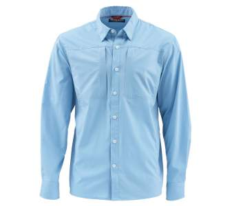 Simms Albie Shirt, Faded Denim