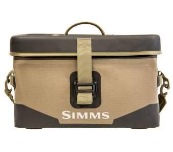 Simms Dry Creek Boat Bag Large 40L, Tan