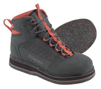 Simms Tributary Boot - Felt, Carbon